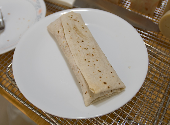 Trader Joe's Chicken Burrito
