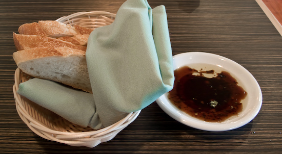 Amelia Cafe - Bread with Vinegar and Oil
