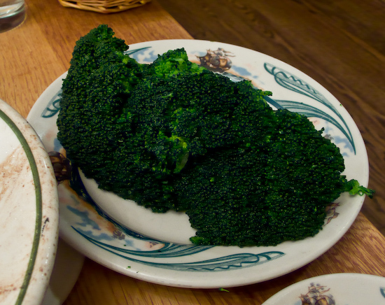 Peter Luger Steakhouse - Fresh Broccoli