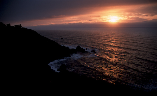 Sunset Near Mendocino