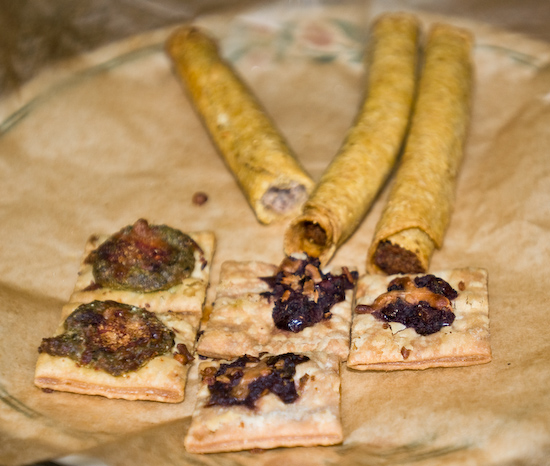 Taquitos and appetizers