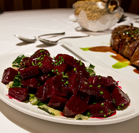 Alexander's Steakhouse - Beets & Greens