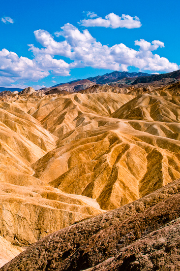 Zabriski Point, Death Valley National Park, California