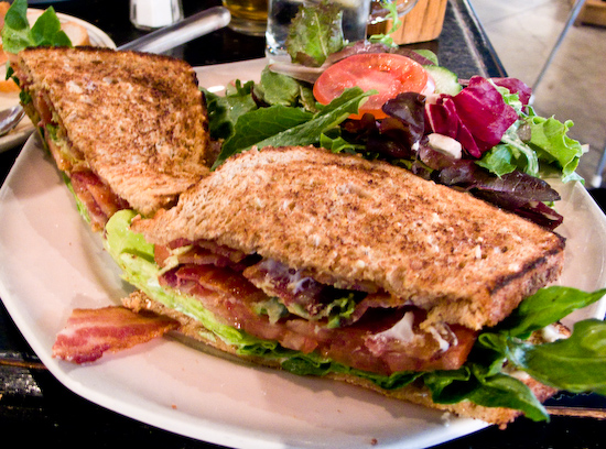 Crossroads Cafe - BLT with Avocado