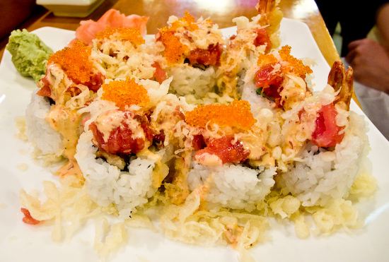 Truya Sushi - Spicy Crunch Rainbow