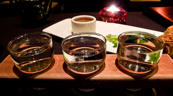 Sino Restaurant - Taste of Heaven Sake Flight