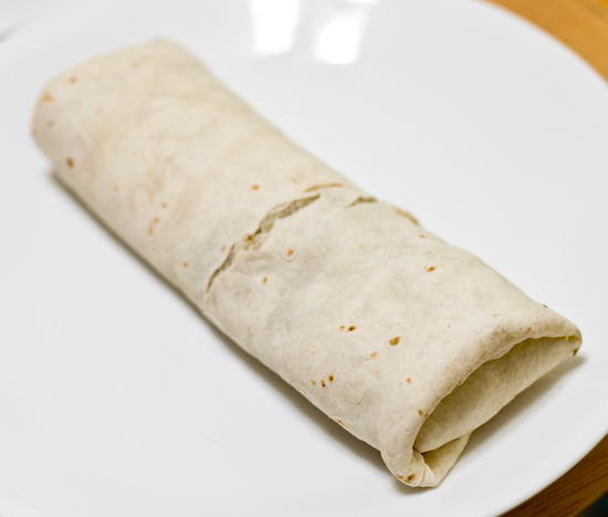 Trader Joe's Chicken Chile Verde Burrito