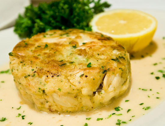 The Grill on the Alley - Crab Cake