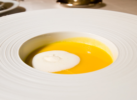 The Dining Room at the Ritz-Carlton - Winter Carrot Soup