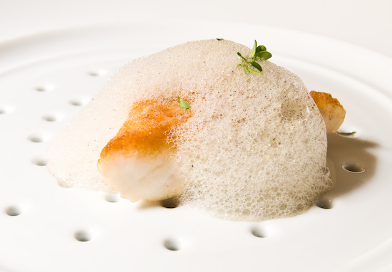 The Dining Room at the Ritz-Carlton - Halibut