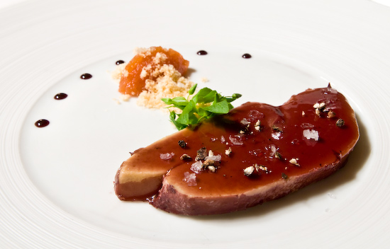 The Dining Room at the Ritz-Carlton - Chilled Foie Gras