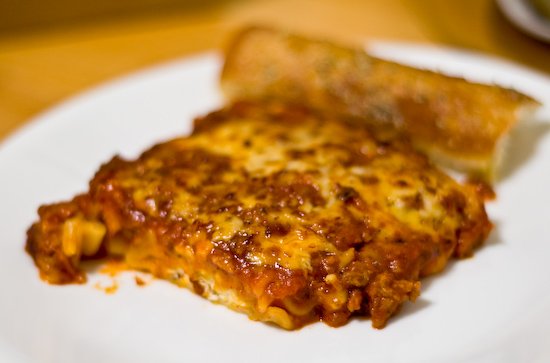 Pizza Hut - Tuscani Lasagna Slice