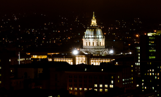 San Francisco City Hall at Night (San Francisco, California)