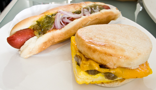 Snack Depot - Hot Dog, Sausage and Cheese Egg Muffin