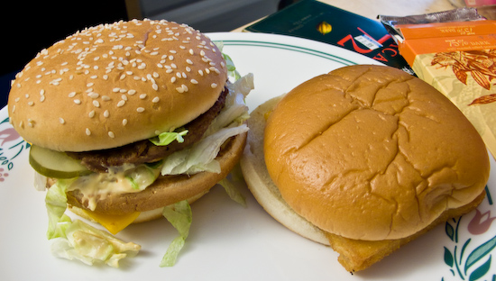 McDonald's - Big Mac and Filet-o-Fish