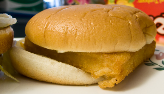 McDonald's - Lopsided Filet-o-Fish