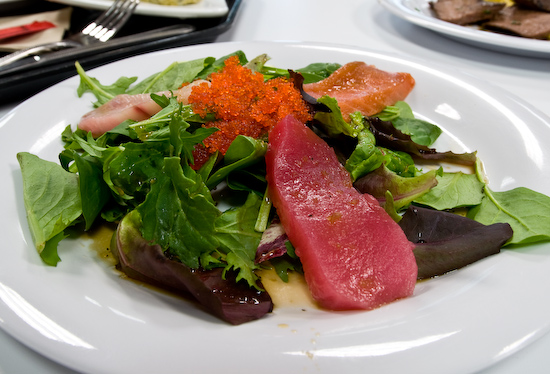 Google Cafe 7 - Sashimi Salad
