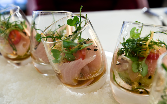 Alexander's Steakhouse - Hamachi Shots