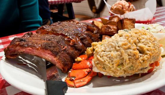 Old Port Lobster Shack - Shack Tail and Ribs
