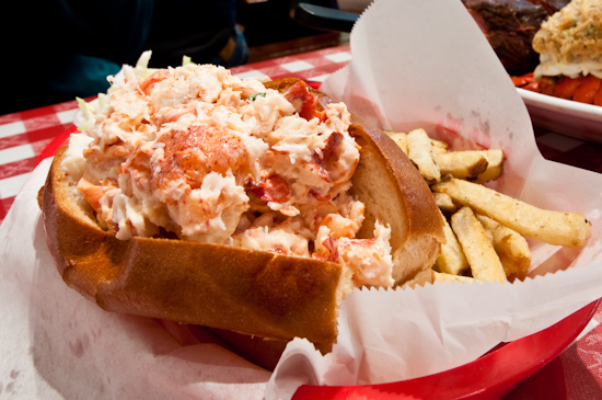Old Port Lobster Shack - Maine Lobster Roll