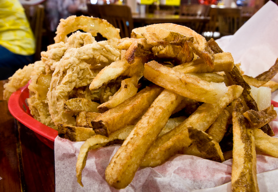 Centerpoint Station - Frings: French Fries and Onion Rings