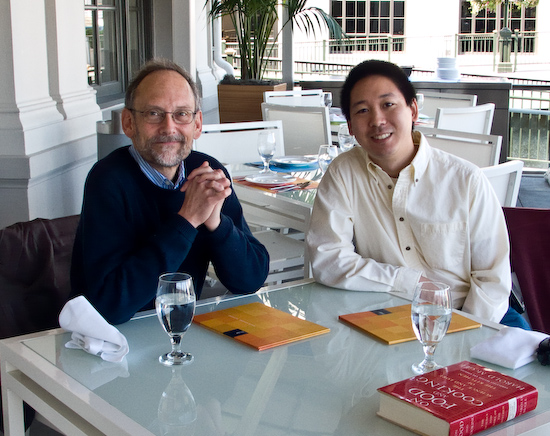 Harold McGee and Michael Chu