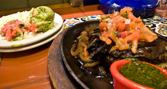 Chili's - Steak and Portabello Fajitas