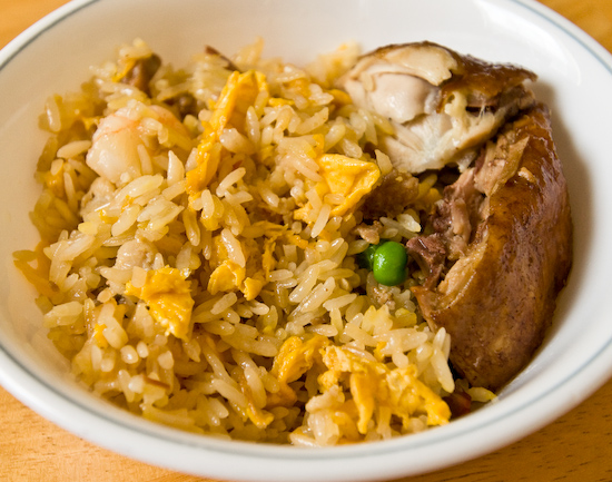 Leftover combination fried rice