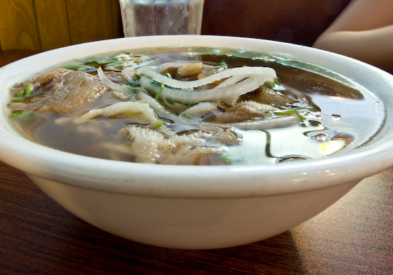 T & N Cafe - Beef Pho (with fatty brisket, tendon, and tripe)