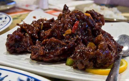 Din Ho Chinese BBQ - Orange Beef