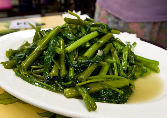 Asia Cafe - Water spinach with garlic