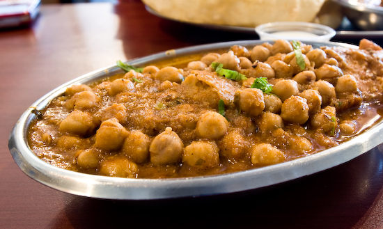 Swad Indian Vegetarian Restaurant - Samosa Chaat