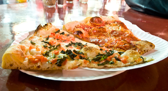Home Slice Pizza - Margherita and Pepperoni Pizza Slices