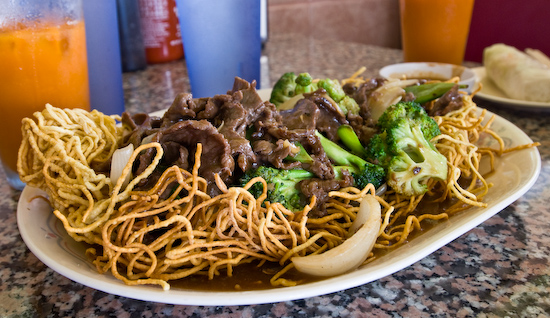 Pho Thaison - Fried Noodles with Beef and Broccoli