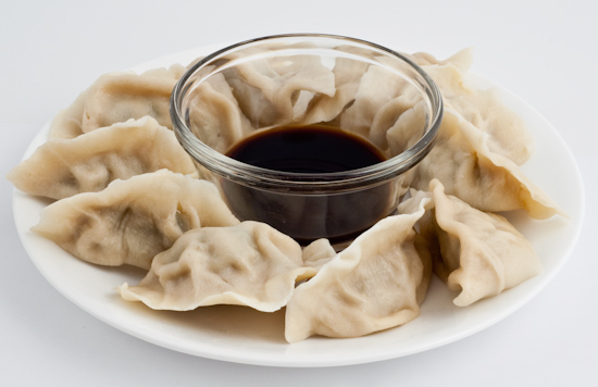 Dumplings with Vinegar