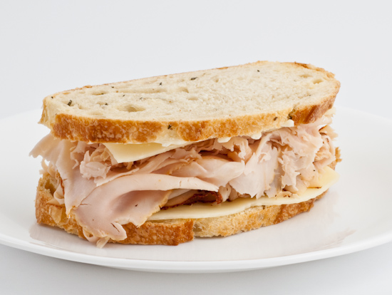 ... had forgotten how delicious and satisfying a turkey sandwich could be