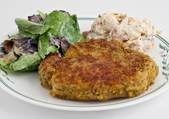Cornmeal Pork Chop