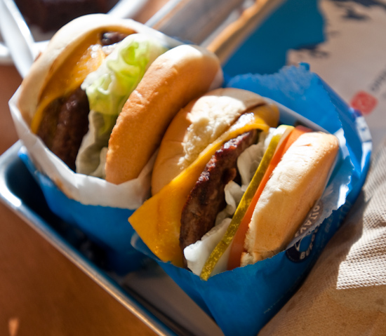 Elevation Burger - Elevation Burger and Cheeseburger