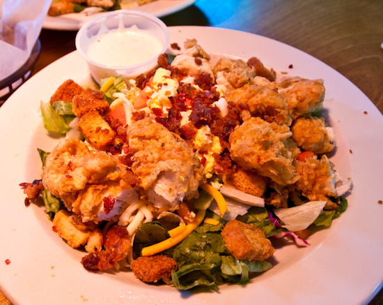 Texas Roadhouse - Chicken Critters Salad