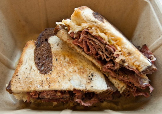 Whole Foods - Reuben Sandwich