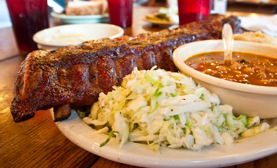 The Salt Lick - Baby Back Ribs