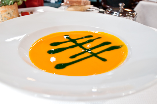 The Driskill Grill - Chilled Carrot-Ginger Soup