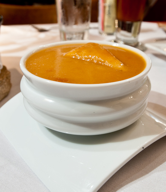 Hudson's on the Bend - Chipotle Lobster Bisque
