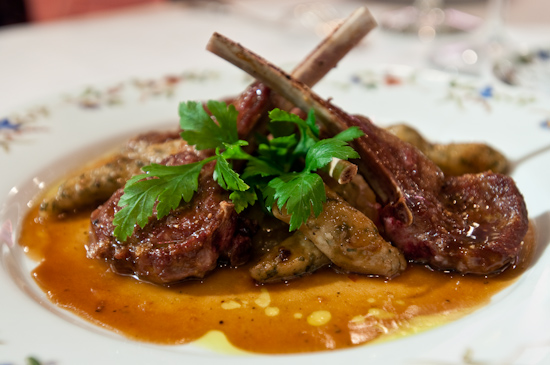 Aquarelle - Pan Roasted Lamb Chops
