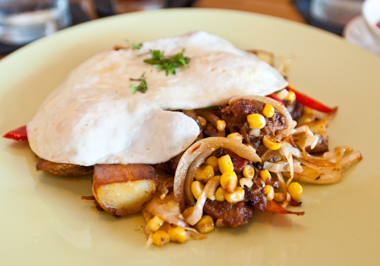 South Congress Cafe - Brisket Hash