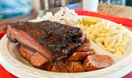 Railroad Bar-B-Que - Ribs, Brisket, and Sausage