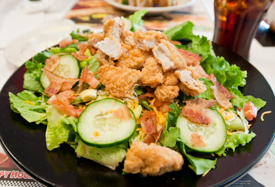 Steak 'n Shake - Crispy Chicken Salad