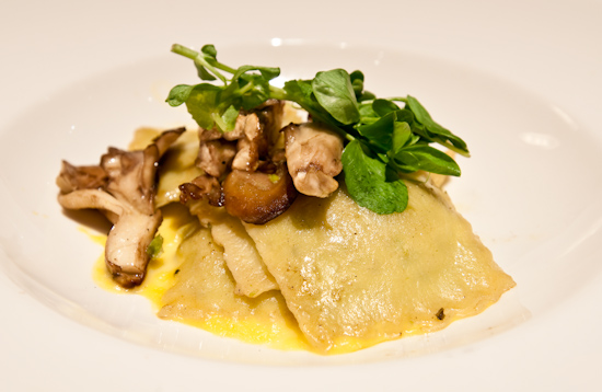 TRIO - English Pea Ravioli