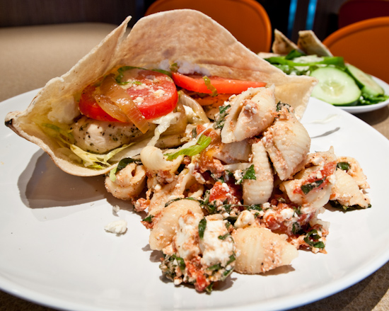 Zoes Kitchen Greek Chicken Pita what i ate: october 5, 2009 (zoe's kitchen) | orthogonal thought