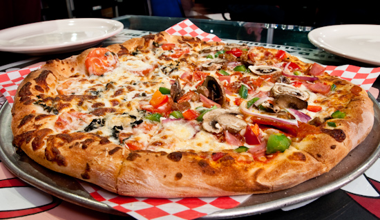 Southside Flying Pizza - Southsider and Margherita Pizza
